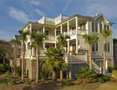 Progess Photos Of Palm Seasons One Our Isle Palms Sc Beach Homes For
